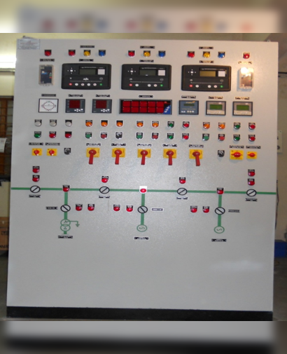 Supply of 2 TG Alternator Synchronizing Panel